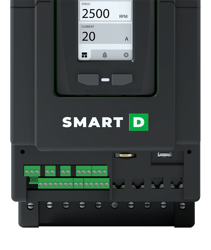 Smart Drive for MCC IoT Ethernet Bacnet Modbus integration
